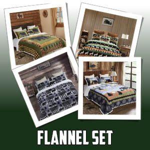 Flannel Bed Set