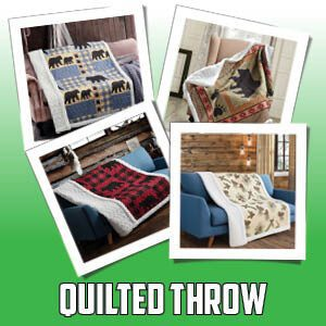 Quilt Sherpa Throw